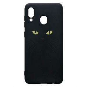 Samsung A30 Case Muzzle Cat