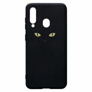 Samsung A60 Case Muzzle Cat