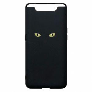 Samsung A80 Case Muzzle Cat