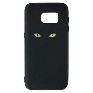 Samsung S7 Case Muzzle Cat