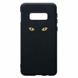 Samsung S10e Case Muzzle Cat