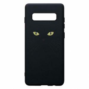 Samsung S10+ Case Muzzle Cat
