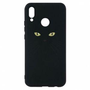 Huawei P20 Lite Case Muzzle Cat