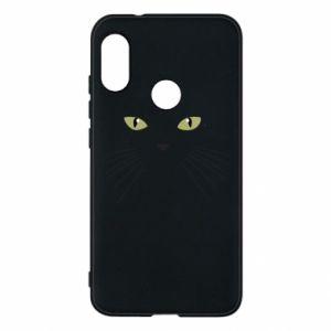 Mi A2 Lite Case Muzzle Cat