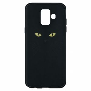 Samsung A6 2018 Case Muzzle Cat