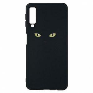 Samsung A7 2018 Case Muzzle Cat