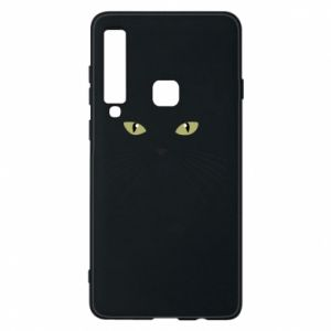 Samsung A9 2018 Case Muzzle Cat