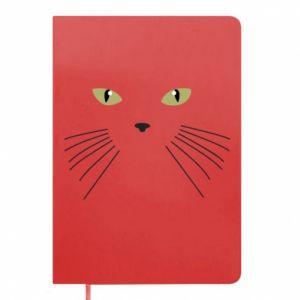 Notepad Muzzle Cat