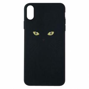 iPhone Xs Max Case Muzzle Cat
