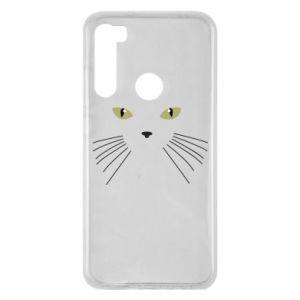 Xiaomi Redmi Note 8 Case Muzzle Cat