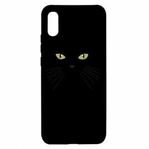Xiaomi Redmi 9a Case Muzzle Cat
