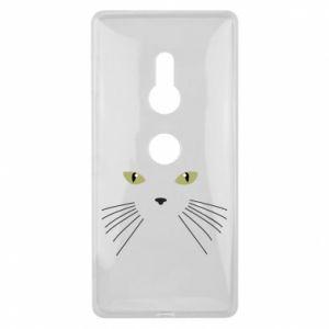 Sony Xperia XZ2 Case Muzzle Cat