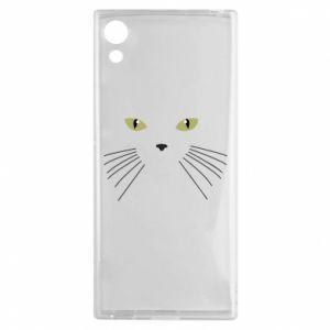 Sony Xperia XA1 Case Muzzle Cat