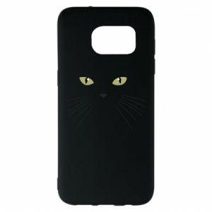 Samsung S7 EDGE Case Muzzle Cat