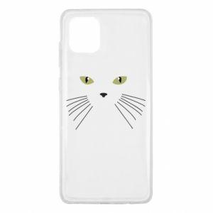 Samsung Note 10 Lite Case Muzzle Cat