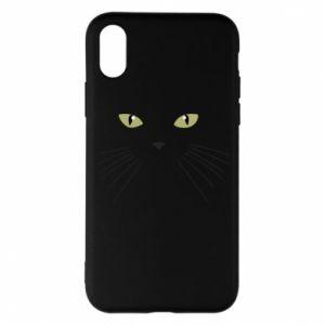 iPhone X/Xs Case Muzzle Cat