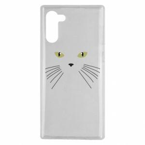 Samsung Note 10 Case Muzzle Cat