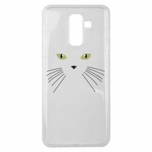 Samsung J8 2018 Case Muzzle Cat