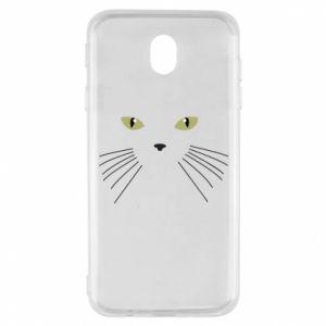 Samsung J7 2017 Case Muzzle Cat