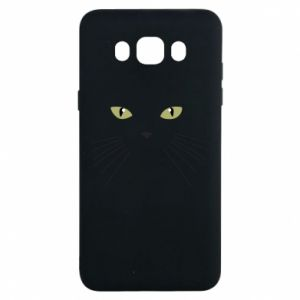 Samsung J7 2016 Case Muzzle Cat