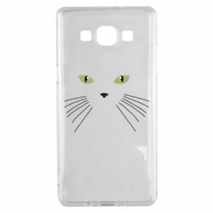 Samsung A5 2015 Case Muzzle Cat