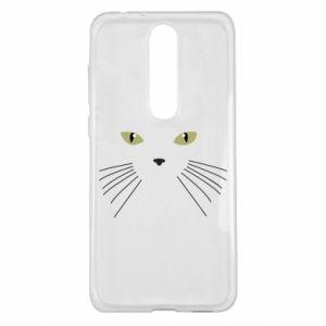 Nokia 5.1 Plus Case Muzzle Cat