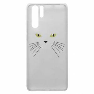 Huawei P30 Pro Case Muzzle Cat