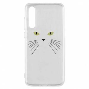 Huawei P20 Pro Case Muzzle Cat