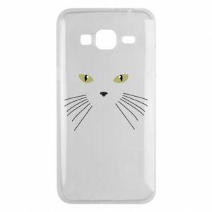 Samsung J3 2016 Case Muzzle Cat