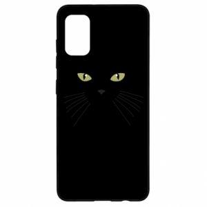 Samsung A41 Case Muzzle Cat