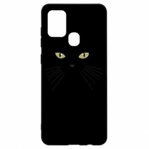 Samsung A21s Case Muzzle Cat