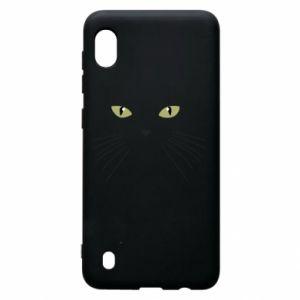 Samsung A10 Case Muzzle Cat