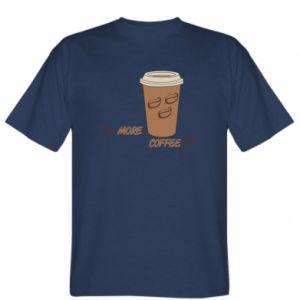 Koszulka męska More coffee
