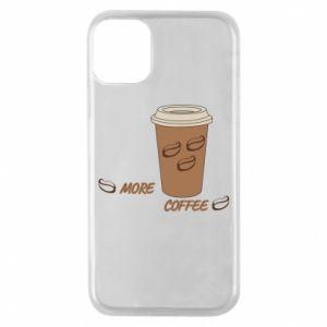 Etui na iPhone 11 Pro More coffee