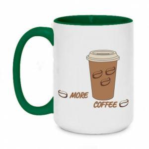 Kubek dwukolorowy 450ml More coffee