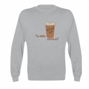 Bluza dziecięca More coffee