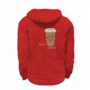 Bluza na zamek dziecięca More coffee