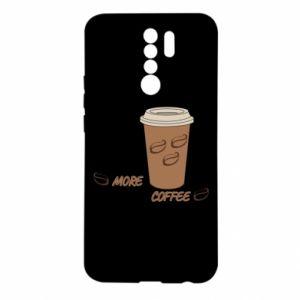 Etui na Xiaomi Redmi 9 More coffee