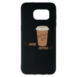 Etui na Samsung S7 EDGE More coffee