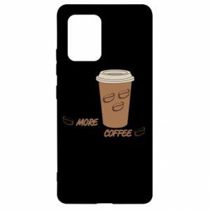 Etui na Samsung S10 Lite More coffee