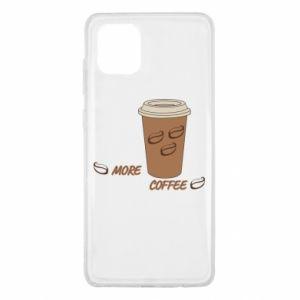 Etui na Samsung Note 10 Lite More coffee