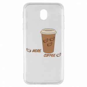 Etui na Samsung J7 2017 More coffee