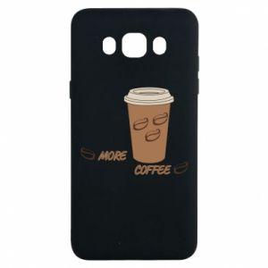 Etui na Samsung J7 2016 More coffee