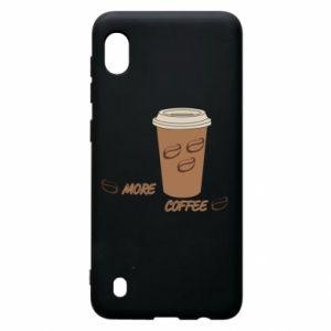 Etui na Samsung A10 More coffee