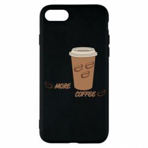 Etui na iPhone SE 2020 More coffee