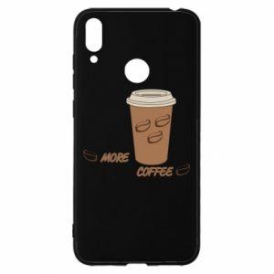 Etui na Huawei Y7 2019 More coffee