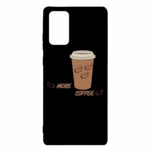 Etui na Samsung Note 20 More coffee