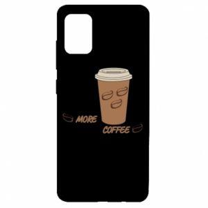 Etui na Samsung A51 More coffee