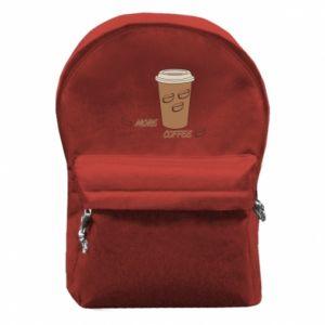 Plecak z przednią kieszenią More coffee