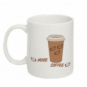Kubek 330ml More coffee